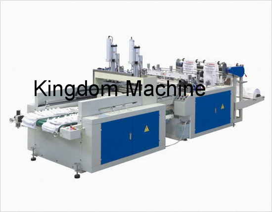 Automatic Plastic T-shirt Bag Machine